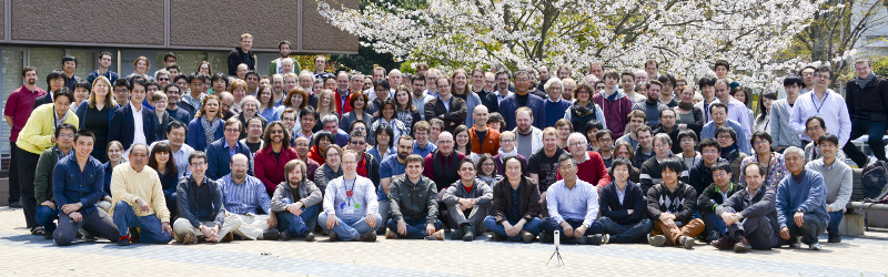 Group photograph of members of the T2K collaboration